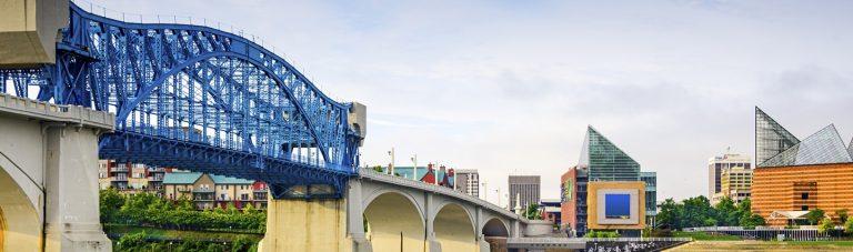 Chattanooga TN Bridge downtown