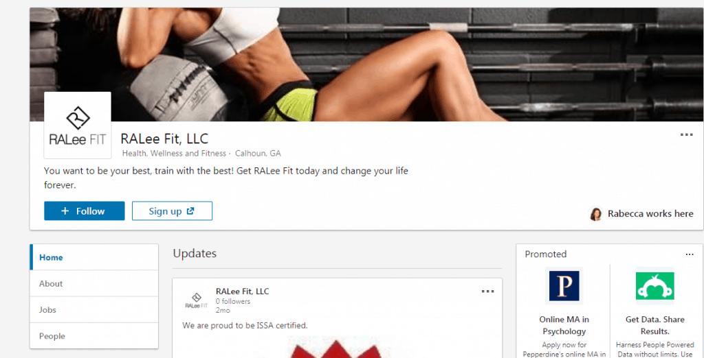 LinkedIn Company Page 2