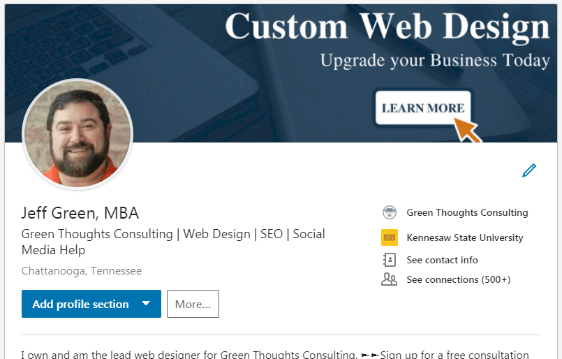 LinkedIn Profile Tips Part 2 editing