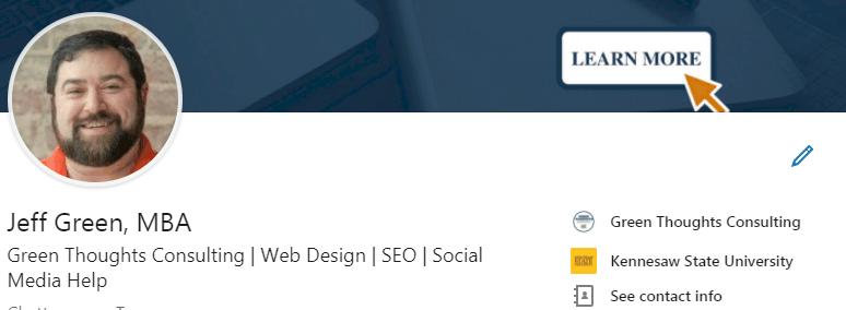LinkedIn profile url tips name box