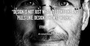 Steve Jobs quote on Design