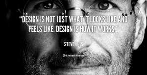 Steve Jobs quote on Design